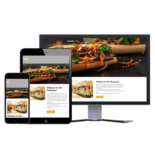 Picture of Restaurant Website - Design #202