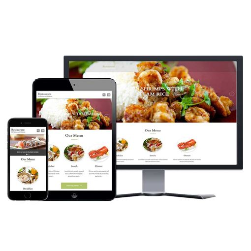Picture of Restaurant Website - Design #203