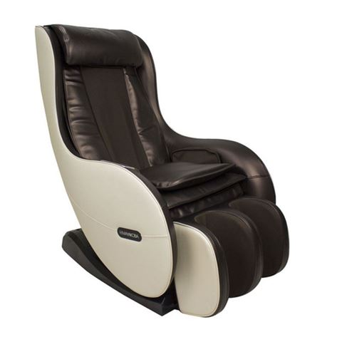 Mocha and cream Sogo Mini massage chair