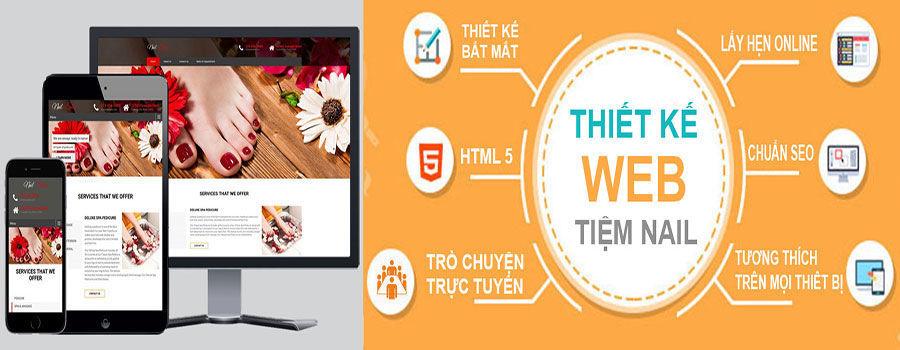 Lọi Ích Của Website Cho Tiệm Nail Và Tóc
