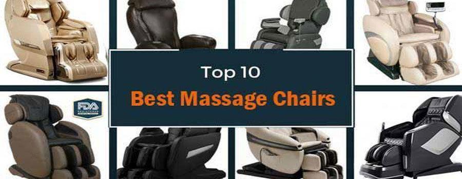 10 Best Massage Chairs 2019