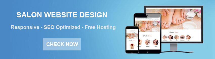 Nail Salon Website Design Services