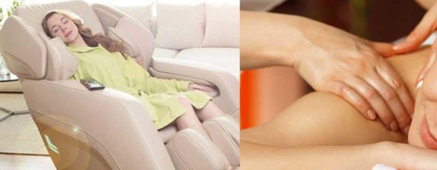 Ghế Massage so với nhà trị liệu: Bạn nên chọn ai?