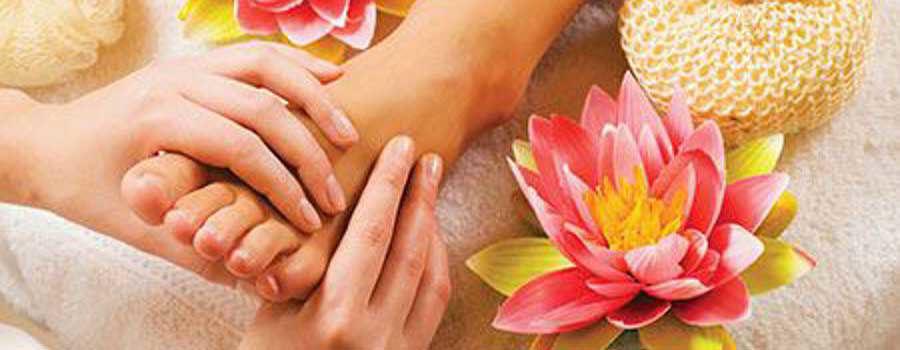 Steps for Pedicure Massage