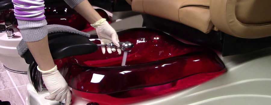 Cleaning Procedure for Pedicure Chairs in Salons
