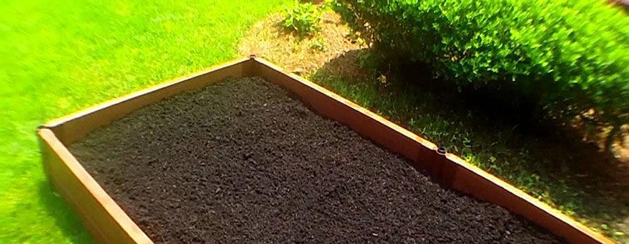Cách trộn đất cho vườn nâng