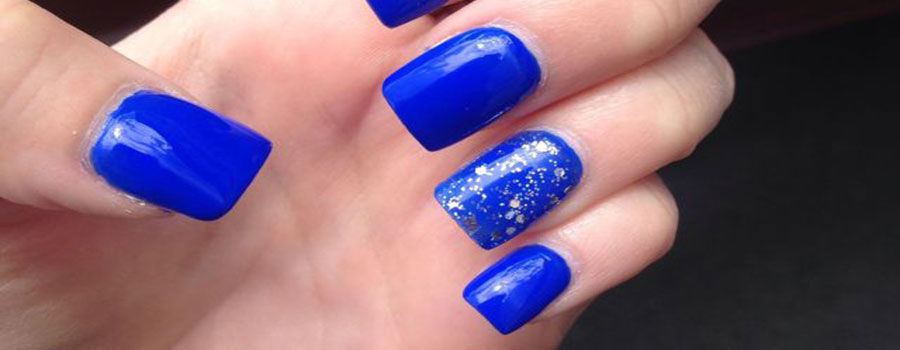 Royal Blue With Naked Crescent