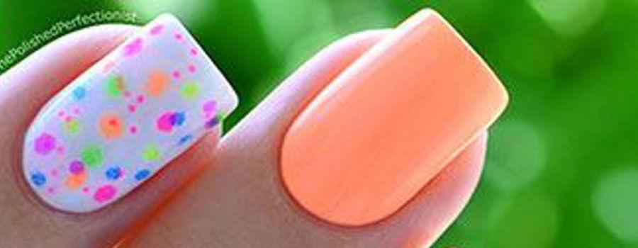 Neon Pastel Peach