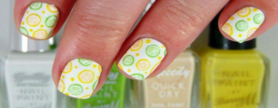 Lemons With Polka Dots