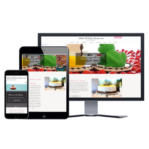Picture of Restaurant Website - Design #204