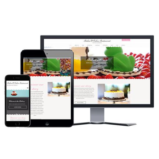Picture of Restaurant Website - Design #204