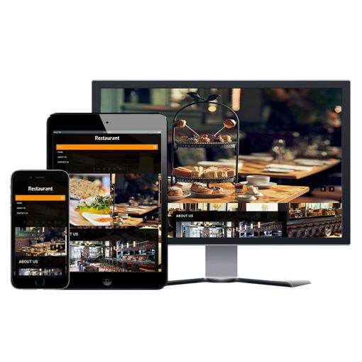 Hình ảnh Website Nhà Hàng - Thiết Kế #205