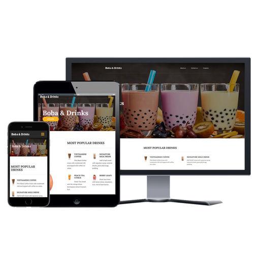 Picture of Restaurant Website - Design #207