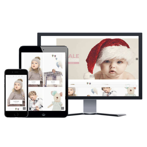 Picture of eCommerce Website - Design #903 Baby Store