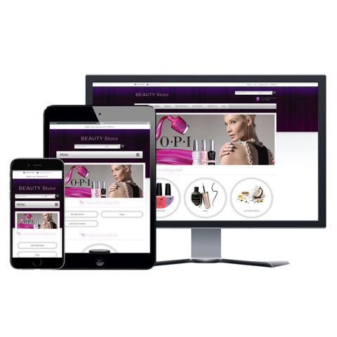 Picture of eCommerce Website - Design #904 Beauty Store