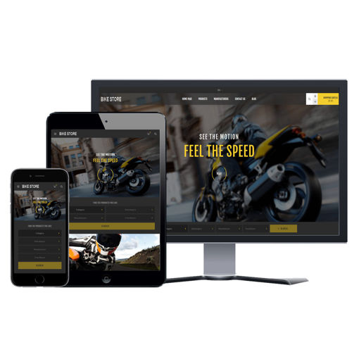 Picture of eCommerce Website - Design #905 Bike Store