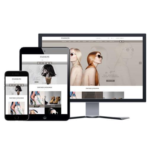 Hình ảnh Website eCommerce - Thiết Kế #908 Fashion Store