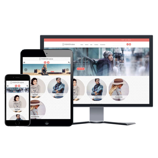 Picture of eCommerce Website - Design #909 Fashion 2 Store