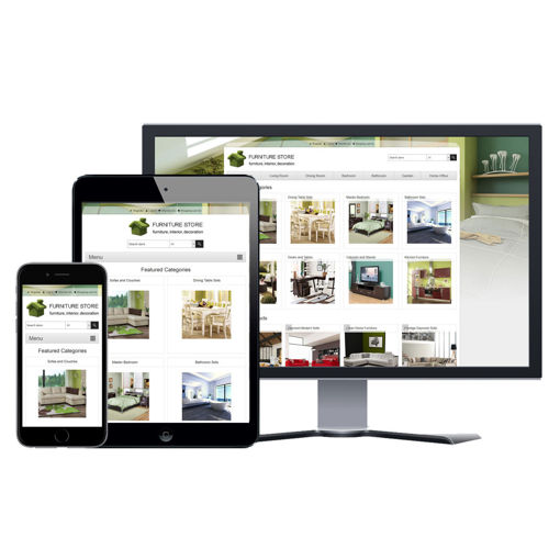 Picture of eCommerce Website - Design #910 Furniture Store