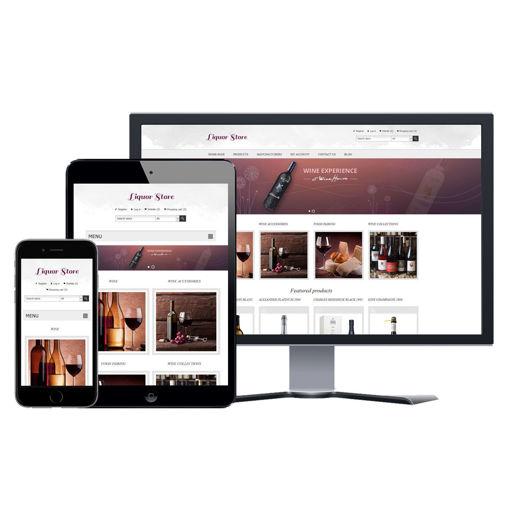 Picture of eCommerce Website - Design #912 Liquor Store