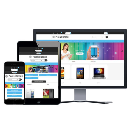 Picture of eCommerce Website - Design #913 Phone Store
