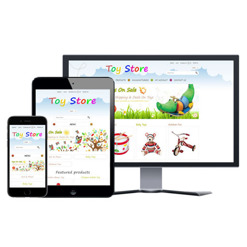 Picture of eCommerce Website - Design #916 Toy Store