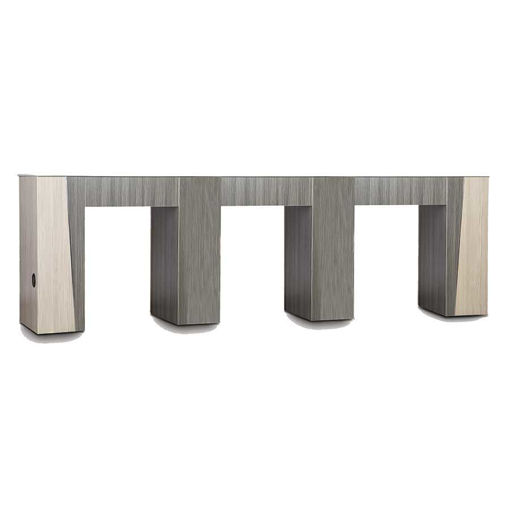 Picture of Tspa Tiffany Triple Manicure Table