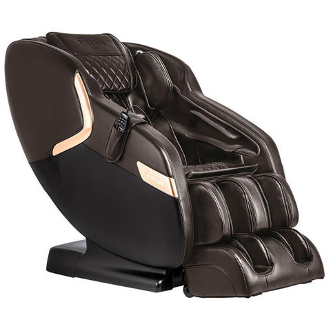 Luca V massage chair brown color