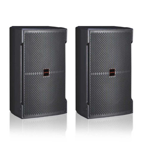 a pair of Ampyon KS-12 karaoke speaker