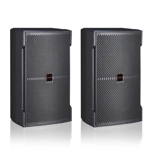 a pair of Ampyon KS-12 karaoke speaker
