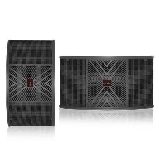 a pair of Ampyon 10 inch karaoke speaker