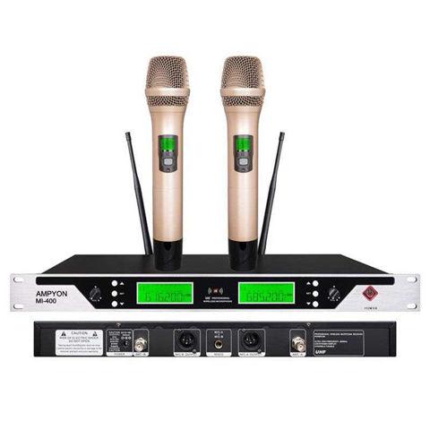 Picture of Ampyon MI-400 UHF Wireless Microphone