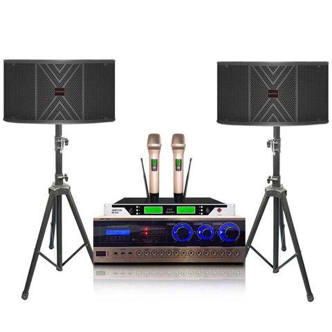 Ampyon KS-10 1500 watt karaoke system