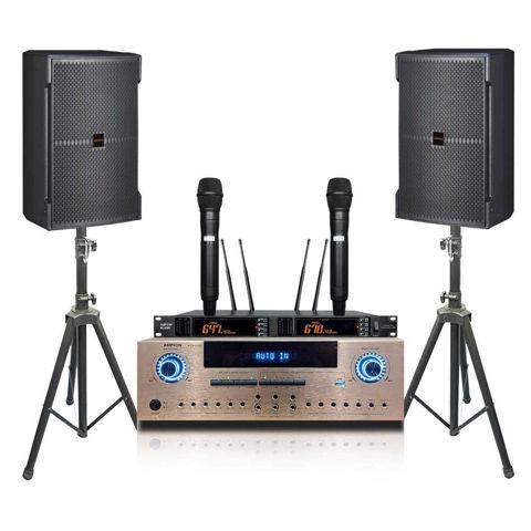 Ampyon KS-12 3000 watt karaoke system