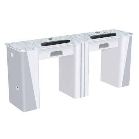 Picture of AYC Nova I Double Manicure Table (With Exhaust)