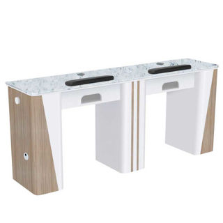 Picture of AYC Nova II Double Manicure Table (With Exhaust)