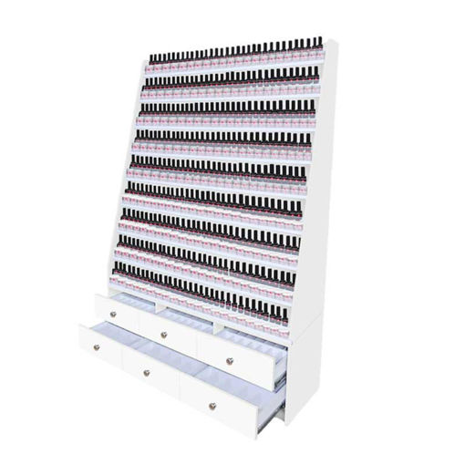 Picture of AYC Somoma Double Nail Polish & Powder Cabinet