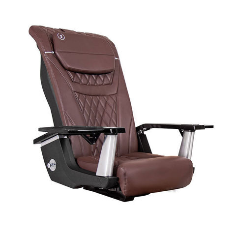 T-Timeless massage chair for pedicure base, chocolate color