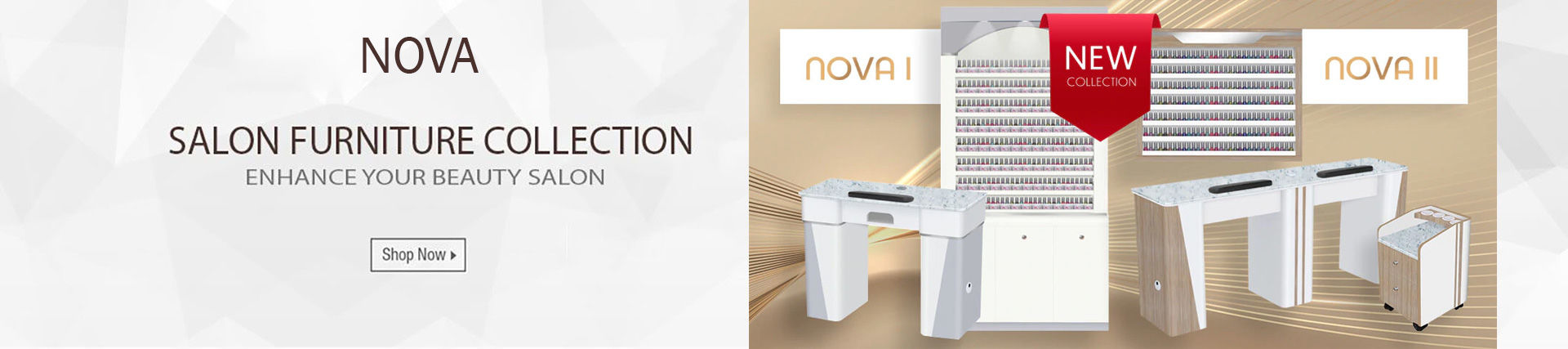 Nova nail salon furniture collection