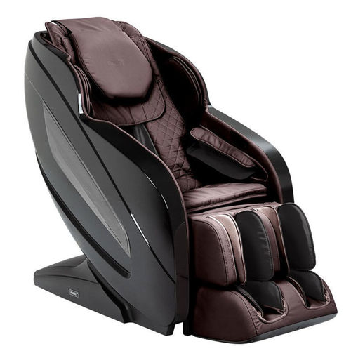 Titan Oppo 3D massage chair black / dark brown color