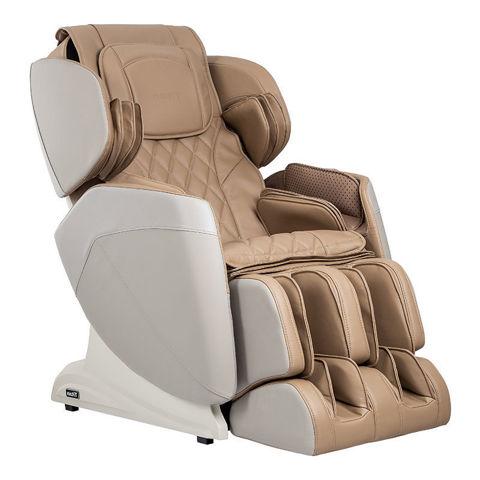 Titan Optimus 3D massage chair taupe color