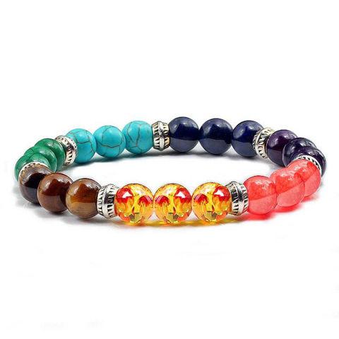 Picture of Classic 7 Chakra Healing Balance Beads Bracelets