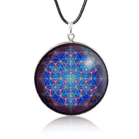 Hình ảnh Mặt Dây Chuyền Đá Sinh Năng Mulany MN304 Lucent Sacred Geometry