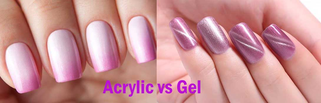 Acrylic nails vs gel nails
