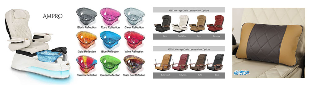 ampro pedicure chair by Gulfstream