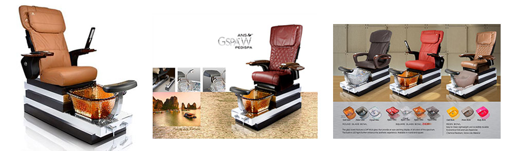 ANS Gspa W pedicure chair