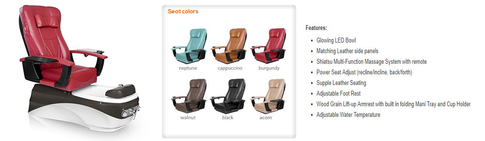 PSD-400 pedicure chair