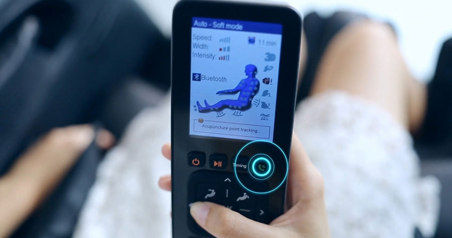 Bluetooth connectivity of Titan Jupiter massage chair