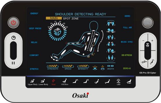 Osaki Pro Cyber full size remote control