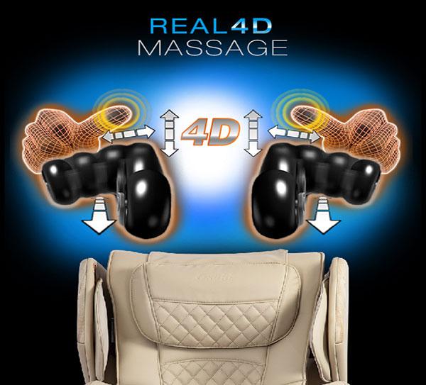 Osaki OS-Pro Soho real 4D roller